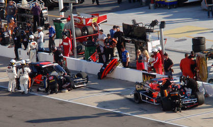 Myers Brothers in the pits