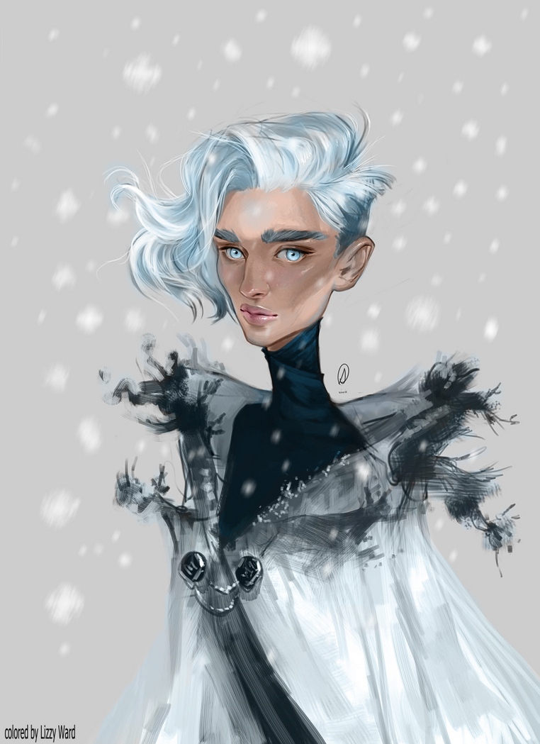 Black turned into Frost by pixelatedxdeath