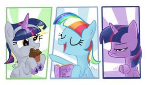 Three Princess of ponyville
