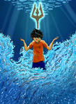 Percy Jackson son of Poseidon