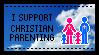 The best kind of parenting - stamp by Skarkat