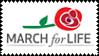 #MarchForLife - Stamp by Skarkat