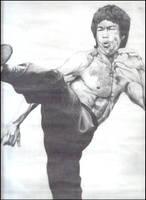 Bruce Lee by raj1v