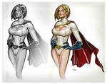 Power Girl Sequence