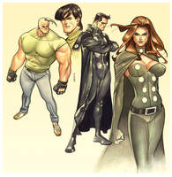 X-Factor Watercolor by taguiar