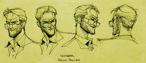 Bruce Banner Sketches