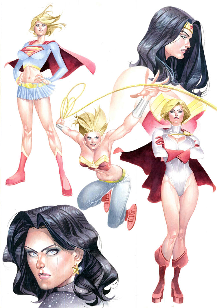 DC Women by taguiar