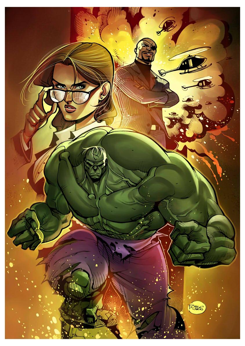 Hulk by taguiar