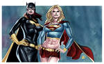 BATGIRL and SUPERGIRL Commission