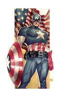 Captain America Commission by taguiar