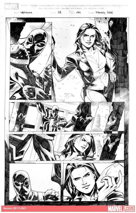 Venom#23 page 04_pencil by taguiar