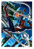 SPIDEY x OCTOPUS commission by taguiar