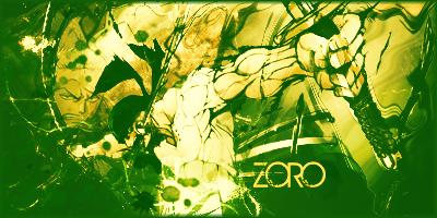 Zoro One Piece Signature by ScriptedDestiny