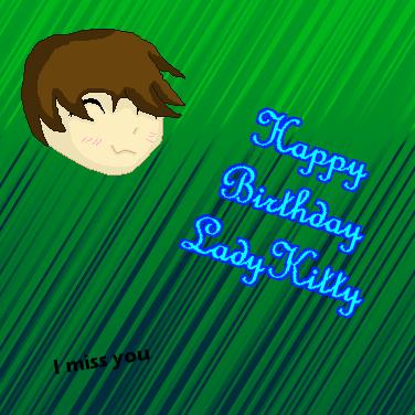 Happy Birthday LadyKitty by Wulf-Oman