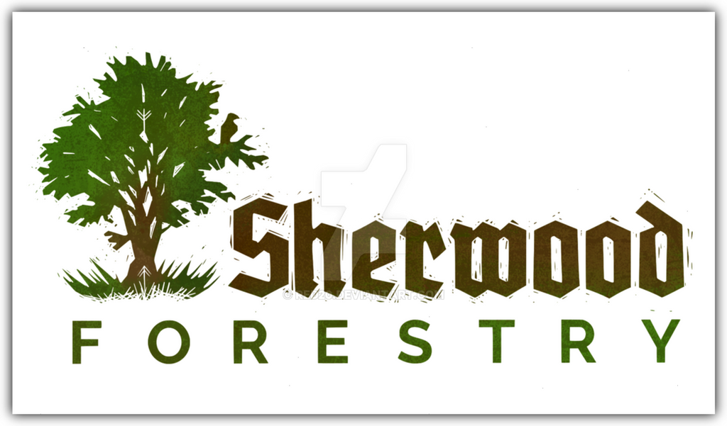 Sherwood Forestry Logo by red20