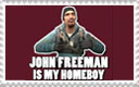 John Freeman Stamp by 777whitedragoness
