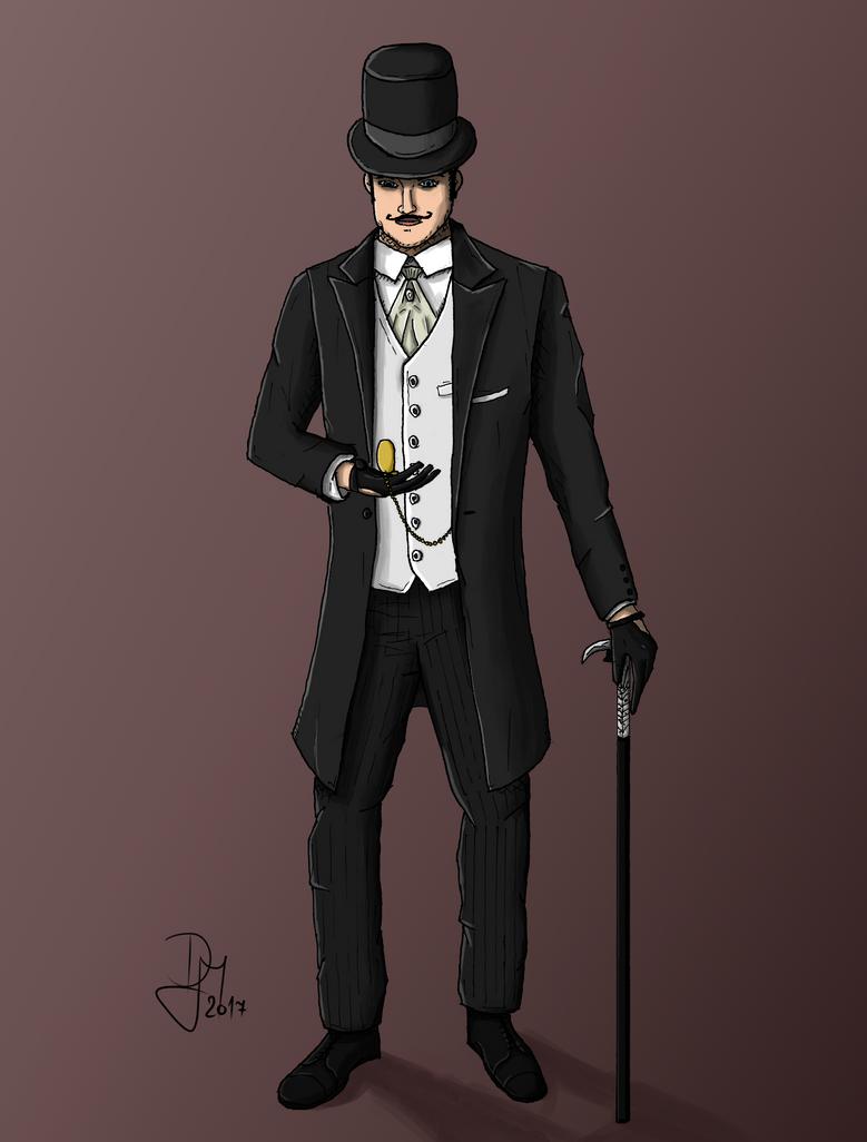 Detective Janos Marton by BroDan270