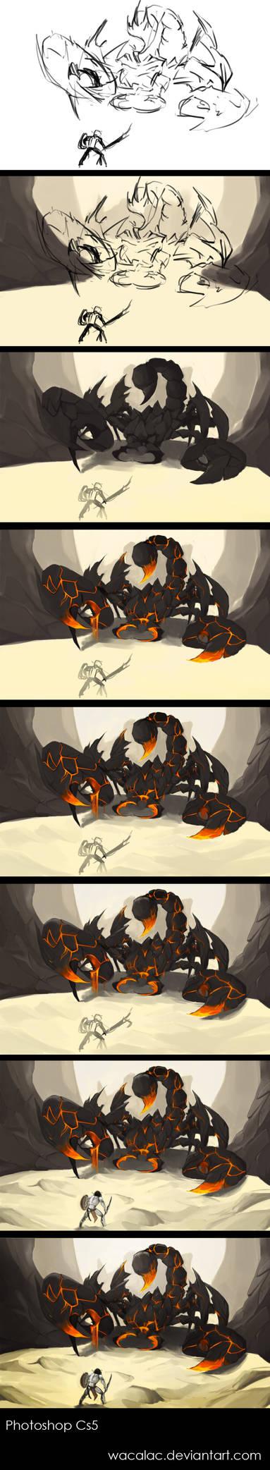 Process: Scorpion