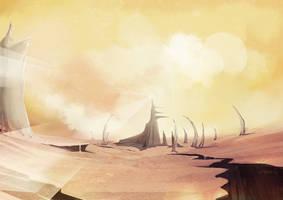 Empty Land by wacalac