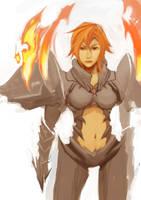 Fire Armor (WIP) by wacalac