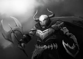 Barbaric Knight by wacalac