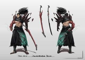 Demonblade Yasuo Concept Fan Art