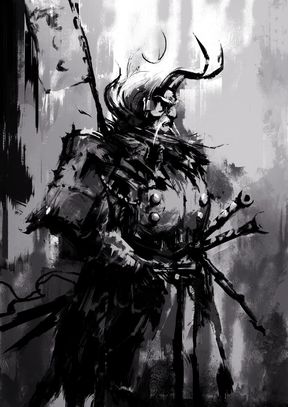 samurai ink by wacalac on deviantart