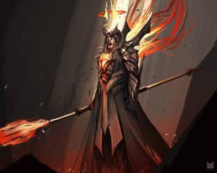 Valor of Corruption (Diablo 3: Imperius) by wacalac