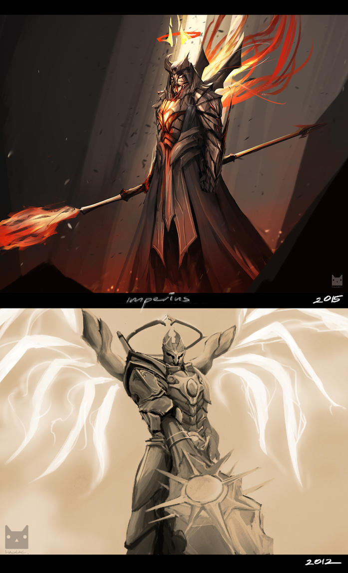 My before and after : Diablo3 Imperius by wacalac