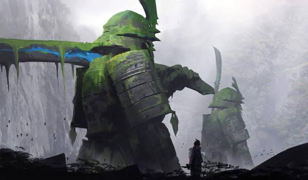 Titan Samurai