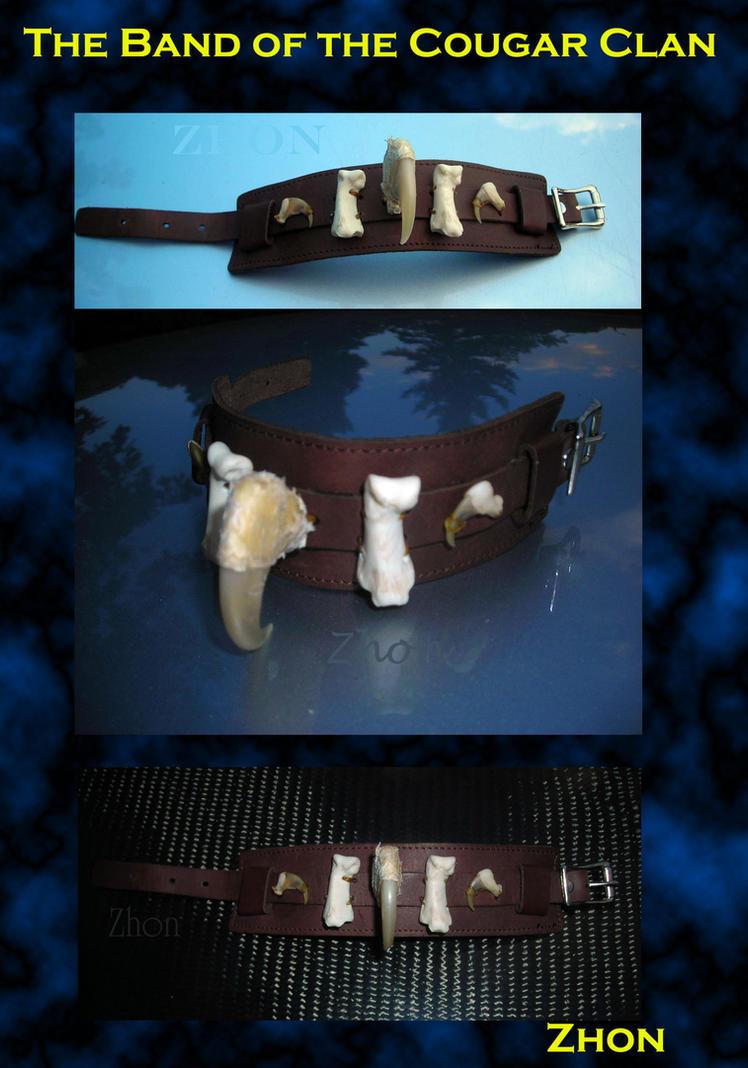 Cougar Clan Bracelet by Zhon