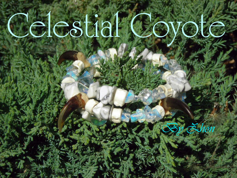 Celestial Coyote by Zhon