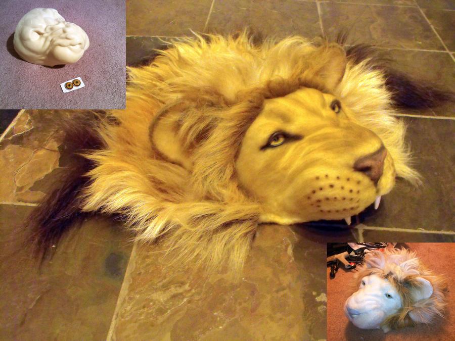 Lion Hoodie Hood Wip By Zhon On Deviantart