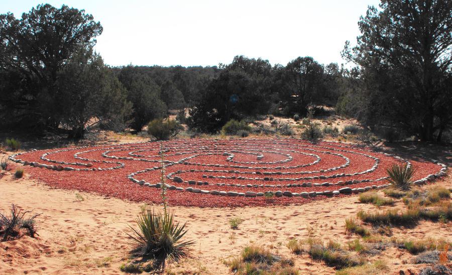 Animal Sanctuary Labyrinth Ritual Ground by Zhon