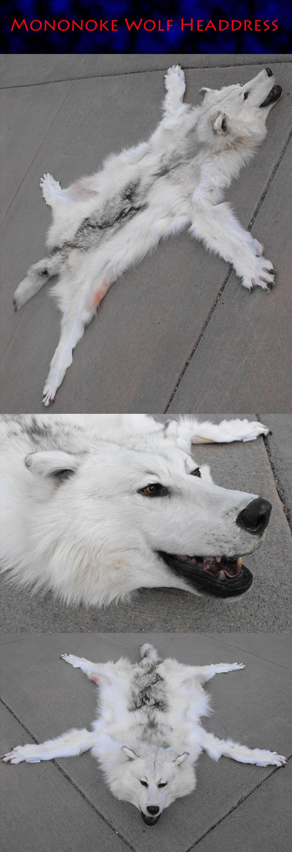 Refurbished Mononoke White Wolf by Zhon