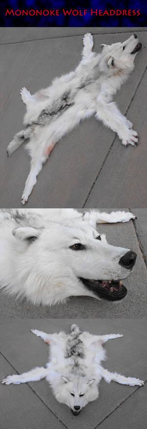 Refurbished Mononoke White Wolf
