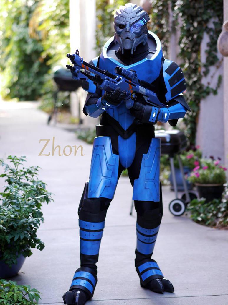 Mass Effect Garrus Vakarian Cosplay by Zhon