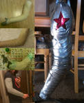 Stages of Creating a Winter Soldier Arm