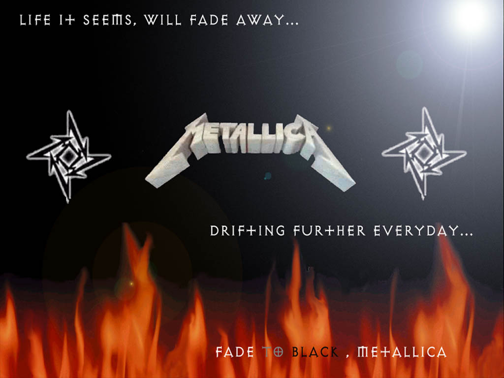 free mp3 metallica fade to black