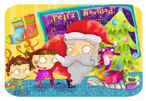 Feliz Navidad by lezard3