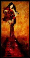 Red Passion Nymph by Yayoi-Matsunaga