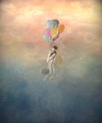 Falling in colors by Yayoi-Matsunaga
