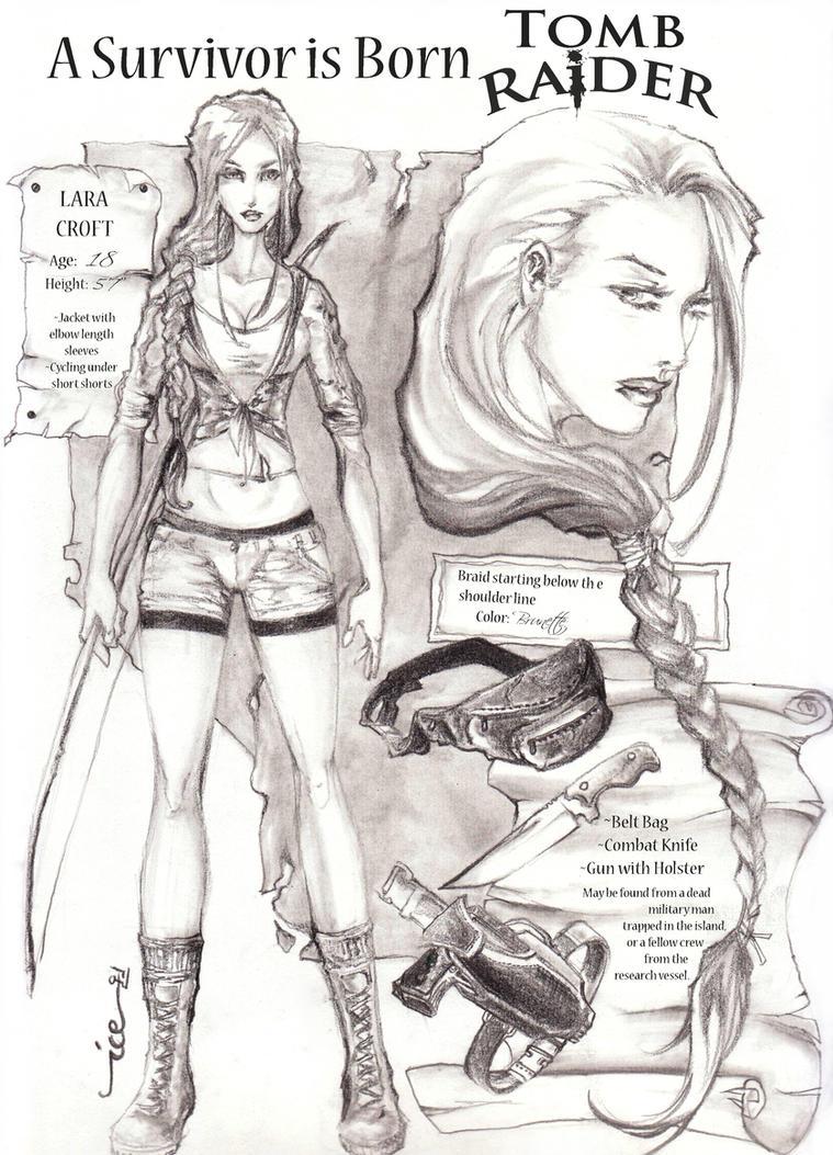 Lara Croft Origins design by blizzardstrike