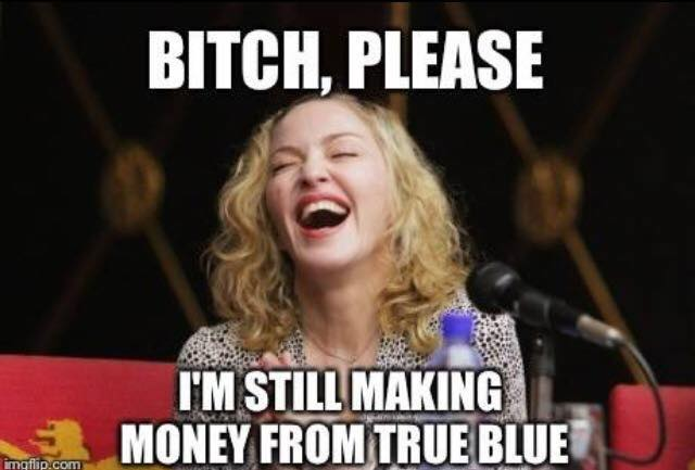 Funny Meme Picture Quotes : Madonna meme quotes funny humor queen of pop music by