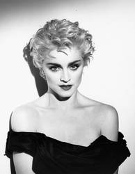 Madonna by Herb Ritts - True Blue