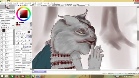 rat-fish-cat-strange mix being? by BAKKSAIGA