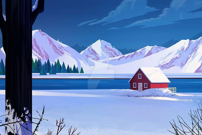 Winter Landscape by Superior-Silverfox