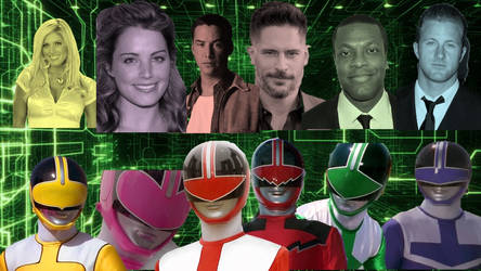 Hollywood Actors As Power Rangers: Time Force
