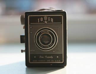 1950 Sears Tower 120 Camera by aseashelltoyourear