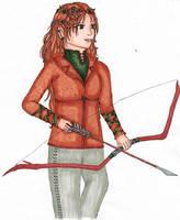 Elmirielle Half-Elf Ranger by szynszyla-stokrotka
